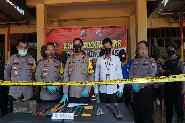 Operasi Sikat Jaran Candi 2020, Polres Grobogan Tangkap 13 Tersangka Curanmor