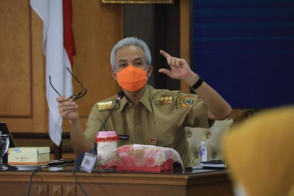 Gubernur Ganjar Sebut Ada Kepala Daerah di Jateng yang Tak Mau Tes Covid-19