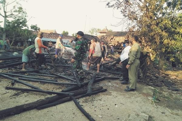 Lupa Matikan Kompor, Dapur Warga di Ngaringan Grobogan Kebakaran