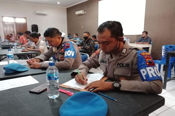 Bawa Senjata Api, 79 Polisi Blora Jalani Tes Kejiwaan