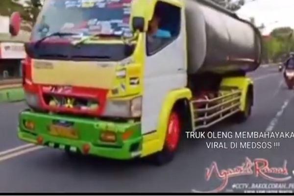 Aptrindo Jateng-DIY Bakal Pecat Sopir Truk Oleng