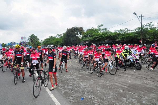 Digelar saat Pandemi Covid-19, Tour de Borobudur Diikuti Puluhan Dokter