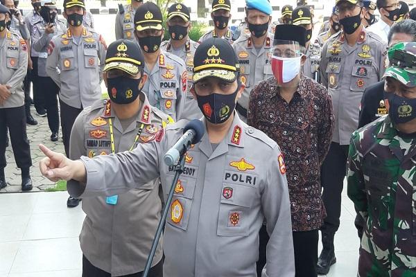 Kunjungi Semarang, Wakapolri Sebut 290 Juta Vaksin Covid-19 Siap