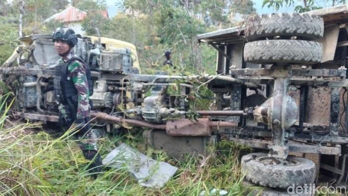 Truk Alami Kecelakaan di Papua, Dua Prajurit Banteng Raiders Semarang Gugur