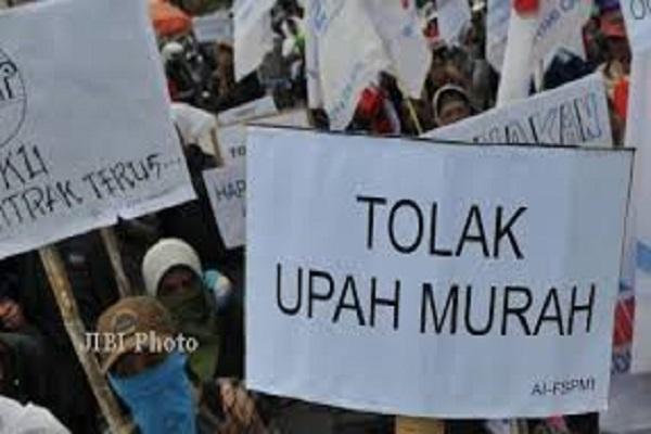 Buruh di Semarang Ingin UMK Rp3,39 Juta, Pengusaha Tetap