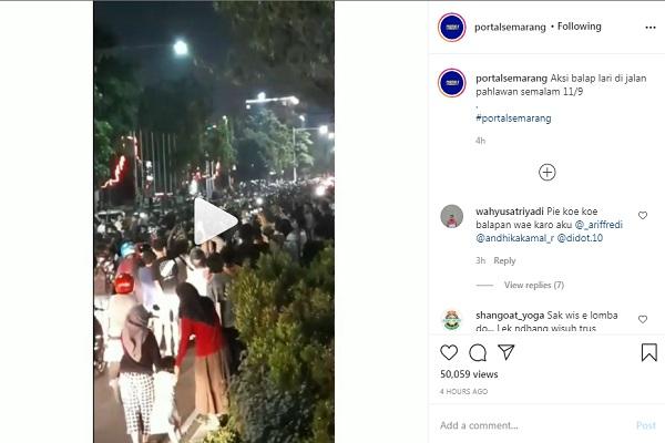 Viral Balap Lari Liar, Gubernur Jateng Siap Fasilitasi, Tapi Tak Izinkan Ditonton