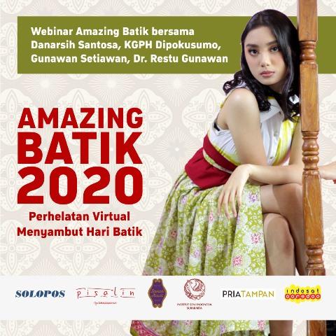 Melestarikan Warisan Budaya Bangsa, Solopos Gelar Virtual Amazing Batik