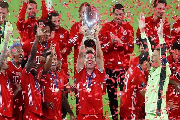 Menangi Piala Super Eropa, Bayern Muenchen Ukir Quadruple
