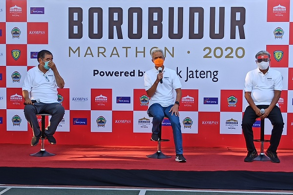 Tetap Digelar di Masa Pandemi, Borobudur Marathon 2020 Tawarkan 2 Konsep