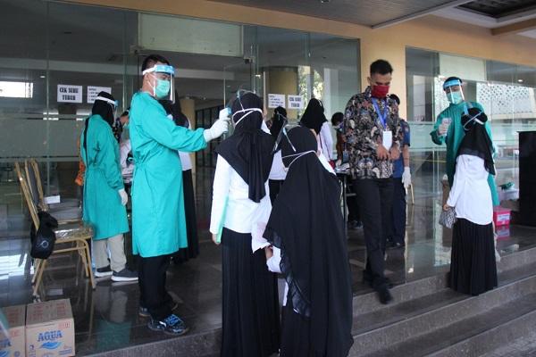 692 Peserta Jalani SKB CPNS Kendal di Semarang