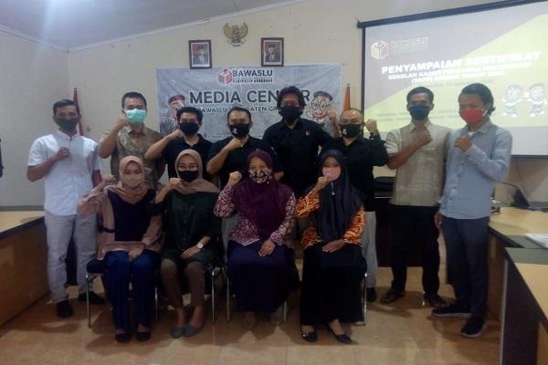 46 Kader Pengawas Partisipan Siap Awasi Pilkada Grobogan 2020