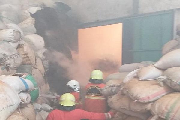Gudang Pakan Ternak di Salatiga Kebakaran, Kerugian Capai Rp500 Juta