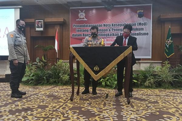 Notaris di Jateng Jalin Kesepakatan dengan Kepolisian