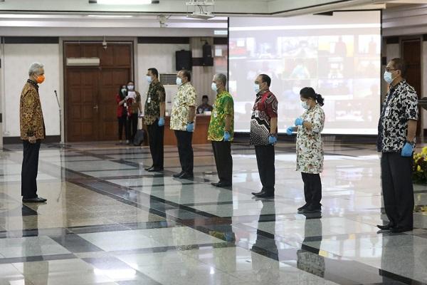 Ganjar Lantik 6 Penjabat Sementara Kepala Daerah di Jateng karena Pilkada 2021, Ini Daftarnya…