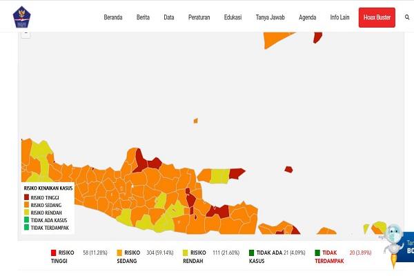 Semarang Targetkan Zona Hijau Covid-19 pada Desember