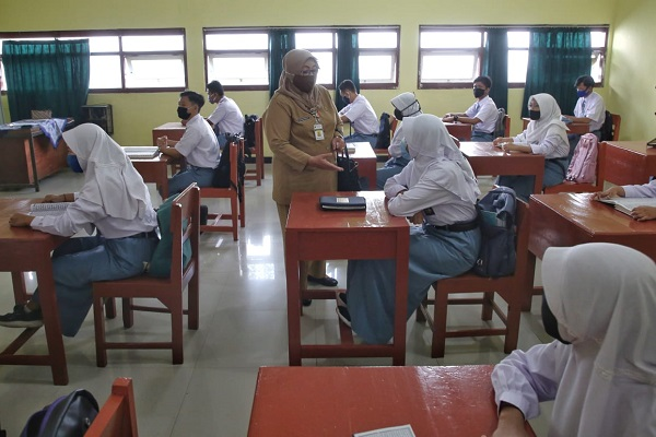 Jateng Bakal Tambah Sekolah untuk Pembelajaran Tatap Muka
