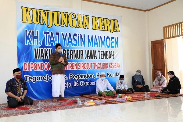 Klaster Ponpes Sumbang Kasus Covid-19 Terbanyak, Gus Yasin: Kegiatan Mengaji Tak Perlu Berhenti