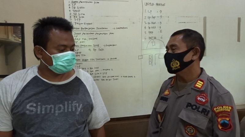 Manfaatkan Aplikasi HP untuk Judi, Sopir Truk di Grobogan Diciduk Polisi