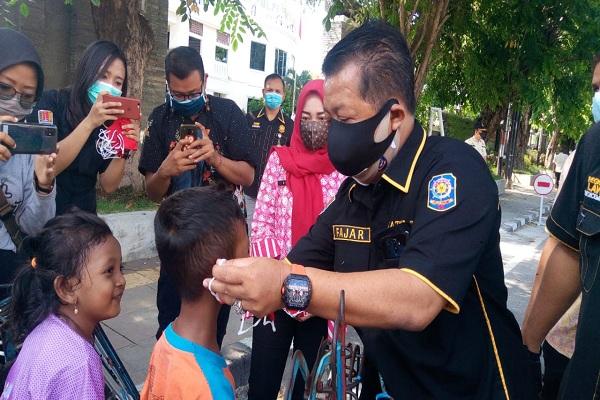 Asyik, Pakai Masker di Semarang Dapat Duit Rp50.000