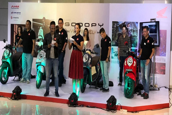 Cegah Kerumunan, Launching Honda Scoopy di Jateng Pun Via Medsos