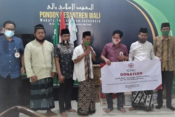 Komite Internasional Palang Merah Beri Bantuan ke Jateng untuk Atasi Covid-19