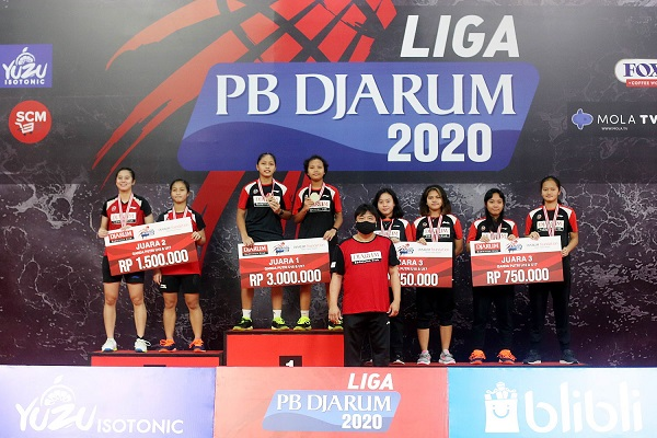 Ini Daftar Juara Liga PB Djarum 2020…