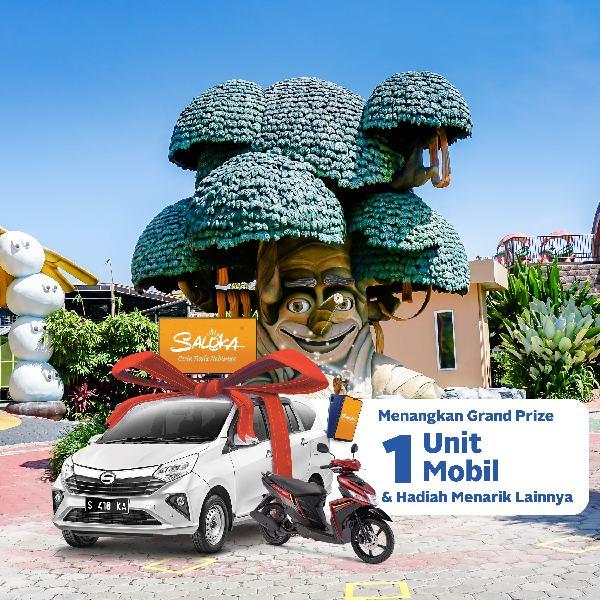 Akhir Tahun, Saloka Theme Park Gelar Undian Mobil