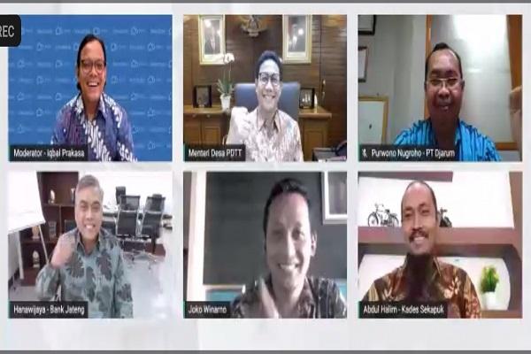 Genjot Kapasitas Bumdes di Kudus, Menteri Desa Puji Djarum