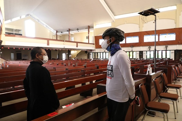 Begini Kesiapan Gereja di Semarang Sambut Natal Sesuai Prokes Covid-19…