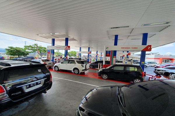 Libur Natal, Konsumsi BBM di Tol Jateng Naik 400%