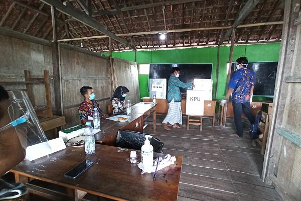80 Pasien Covid-19 RSUD Wongsonegoro Semarang Ikut Nyoblos