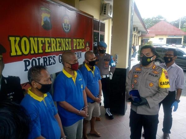 Beralasan Terdampak Pandemi, Tiga Pria di Grobogan Jual Permainan Judi Capjiki