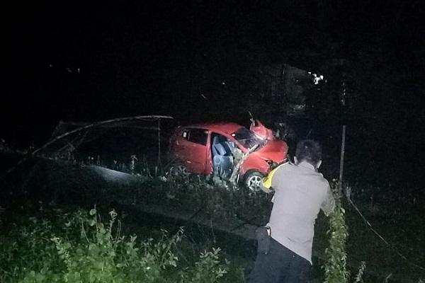 Mesin Mati Mendadak, Ayla Tertabrak KA Jayabaya di Grobogan