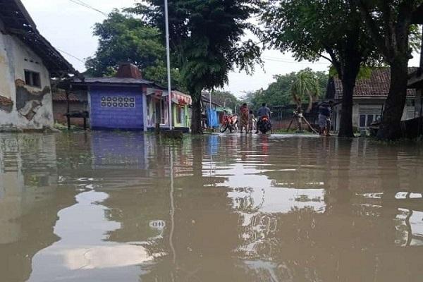 Hujan Deras, Banjir Landa Tiga Kecamatan di Grobogan