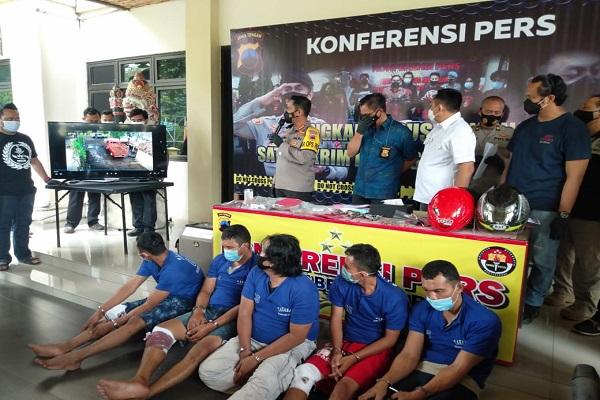 Doorrr!!! Lima Rampok Distributor LPG Semarang Diringkus di Ciamis