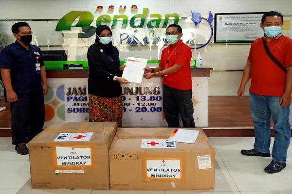 PMI Jateng Salurkan 5 Ventilator ke Rumah Sakit