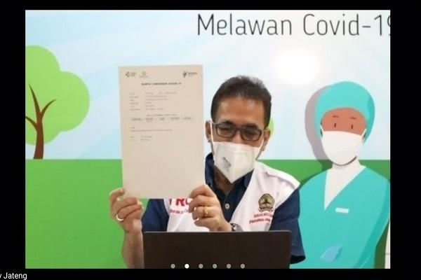 Cerita Nakes Pertama di Jateng yang Disuntik Vaksin Covid-19