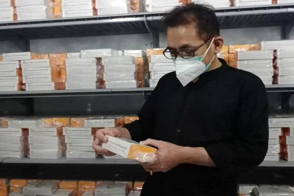 248.600 Dosis Vaksin Sinovac Tiba di Jateng, 32 Kabupaten/Kota Siap Vaksinasi
