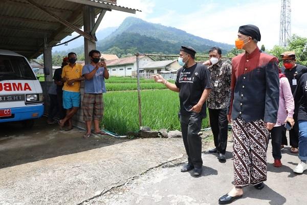 Gubernur Ganjar Sebut PPKM Mikro di Jateng Berhasil Gegara Jogo Tonggo