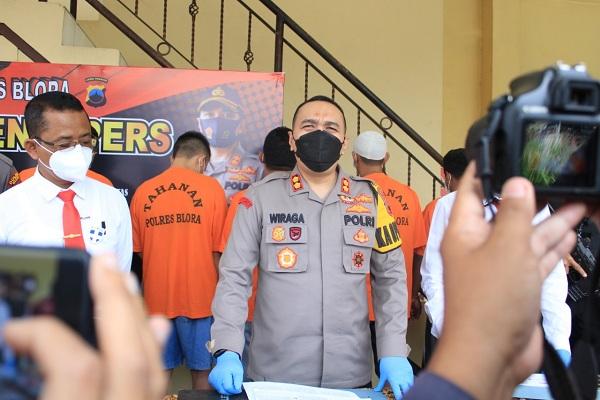 Sempat Buron 20 Bulan, Pelaku Ilegal Logging di Blora Ditangkap