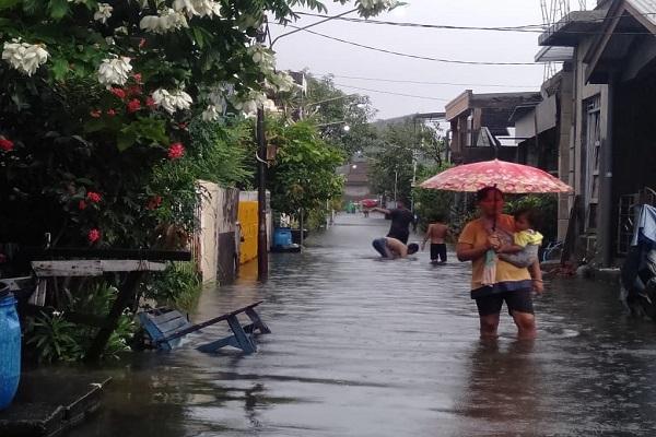 Banjir di Semarang Belum Surut, 18.186 Keluarga Masih Terdampak