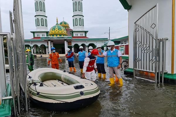 Banjir Semarang, 93% Pelanggan PLN Sudah Nikmati Listrik