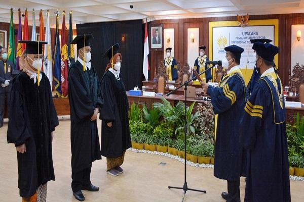 Awal 2021, Unnes Tambah 6 Guru Besar