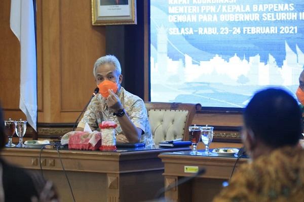 Ganjar Usulkan Rp3,19 Triliun untuk Atasi Banjir & Rob di Pantura Jateng