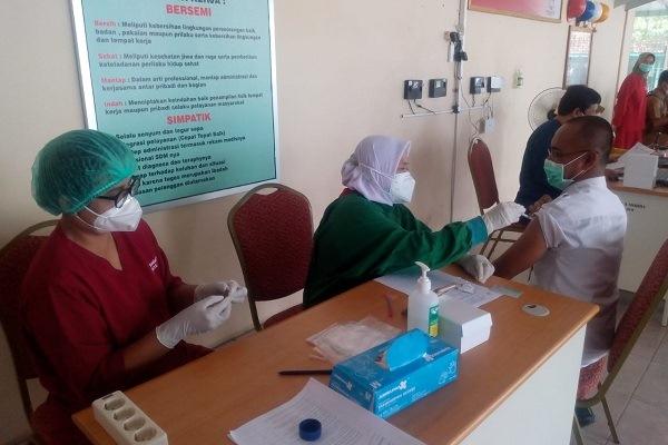 Vaksinasi Kedua Jateng Tertinggi Nasional