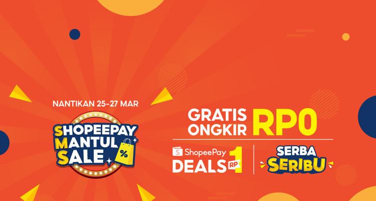 Dukung Gaya Hidup Modern Masyarakat Indonesia, ShopeePay Mantul Sale Sediakan Rangkaian Promo Menarik