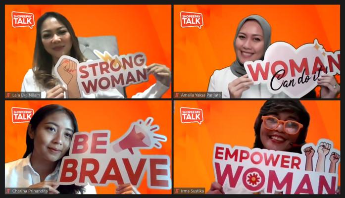 ShopeePay Talk Ungkap Kiprah Sukses Para Perempuan Hebat di Balik Bisnis dan Industri Tanah Air
