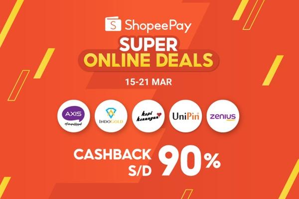 ShopeePay Super Online Deals Dorong Masyarakat Indonesia Tetap Produktif dan Kreatif Selama di Rumah