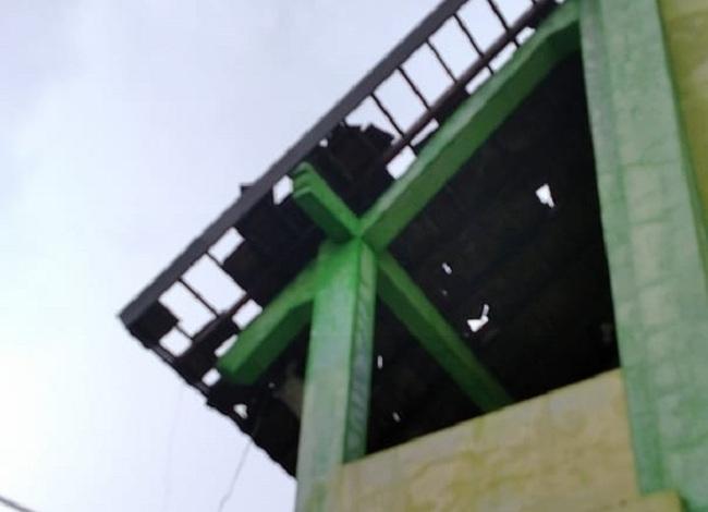 Angin Kencang Terjang Rumah & Sekolah di Grobogan