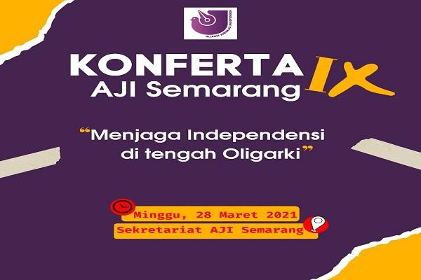 AJI Semarang Gelar Konferta, Ini Agenda yang Dibahas